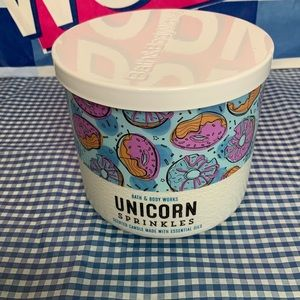 Bath & Body Works Unicorn Sprinkles Candle
